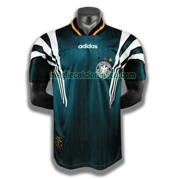 germania seconda player maglie calcio 1996 verde uomo